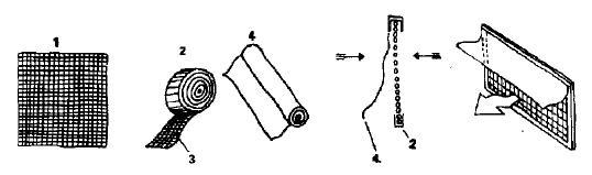 Конструкция устройства, предотвращающего обратную циркуляцию воздуха