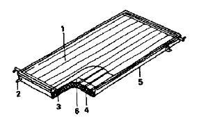 Внешний вид плоского солнечного коллектора