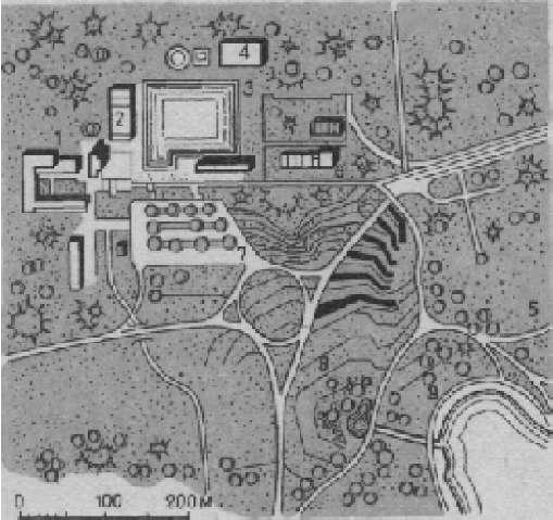 Центральная парковая зона г. Тапиола