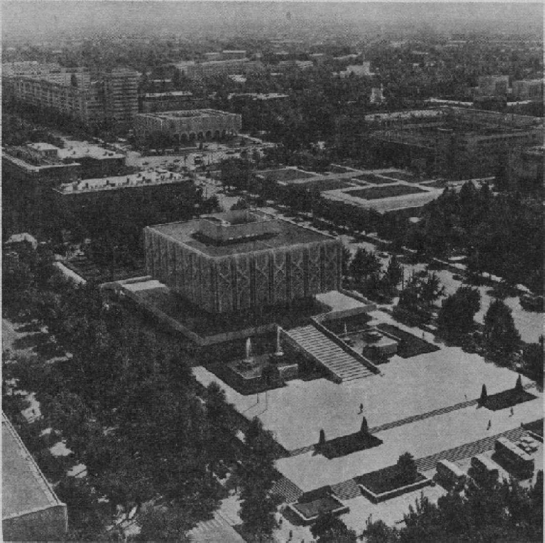 Ташкент. Центр города