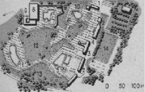 Рекреационный комплекс плавательными бассейнами в районе Панков в Берлине