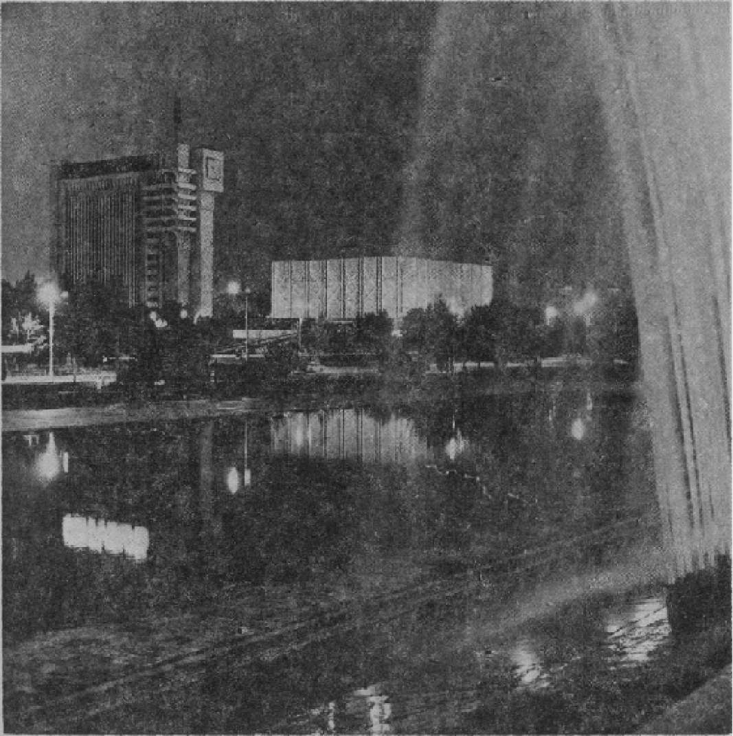 Центральная площадь Ташкента
