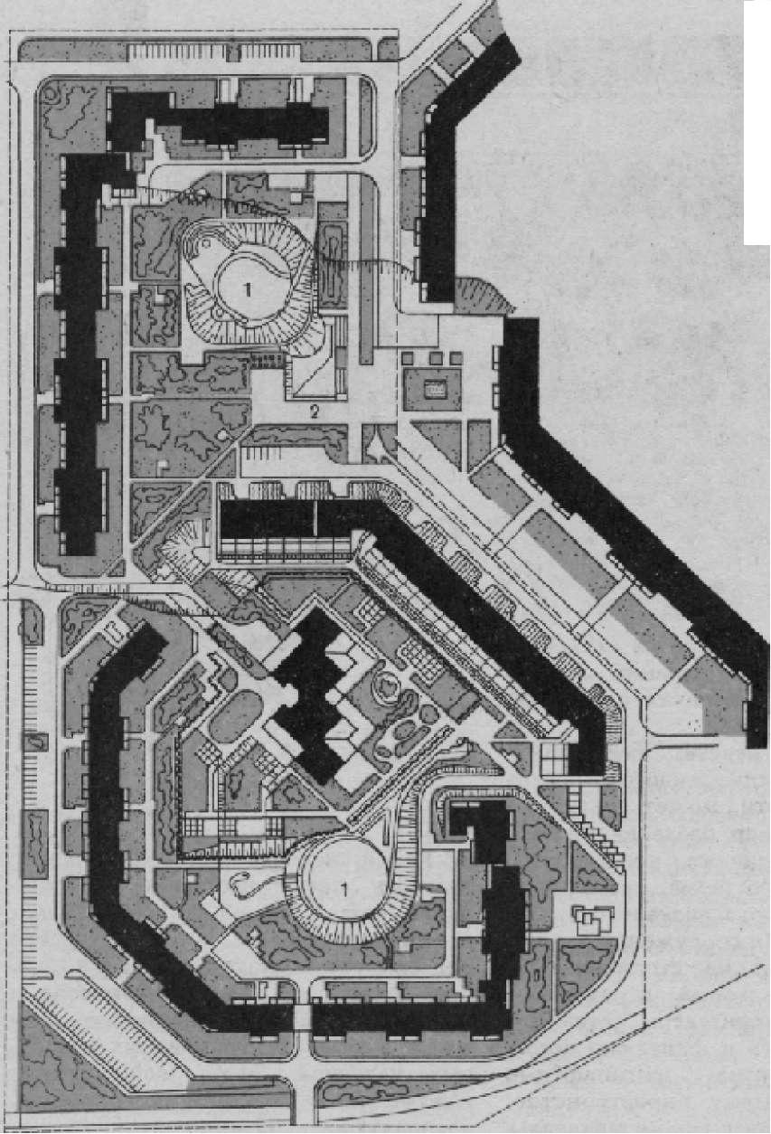 Экспериментальный жилой комплекс в г. Горьком