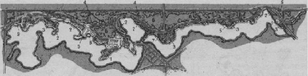 План гидропарка «Озеро Бельвил» (штат Мичиган, США)