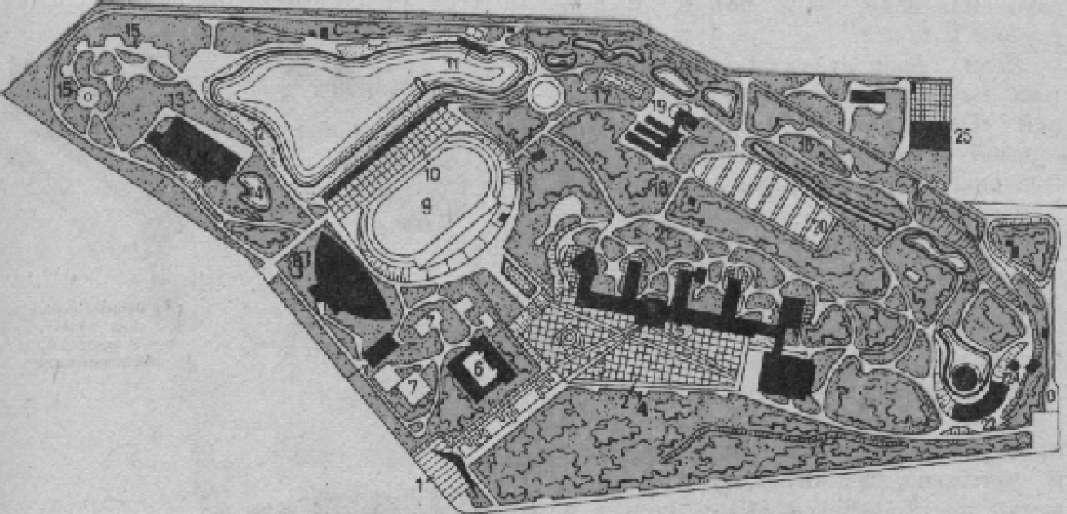 Парк городского Дворца пионеров в Москве