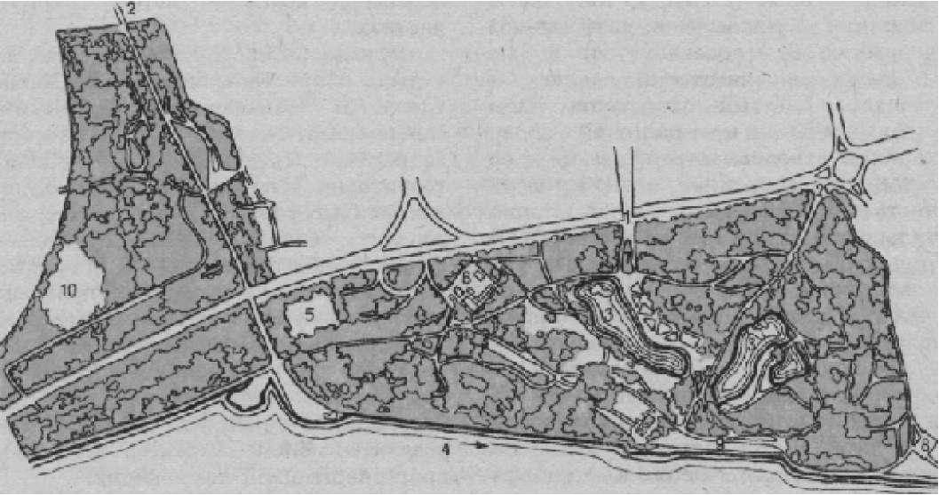 Парк в Запорожье (арх. С. В. Пастухов)