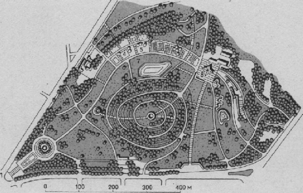 Парк «Фридрихсхайн» в Берлине