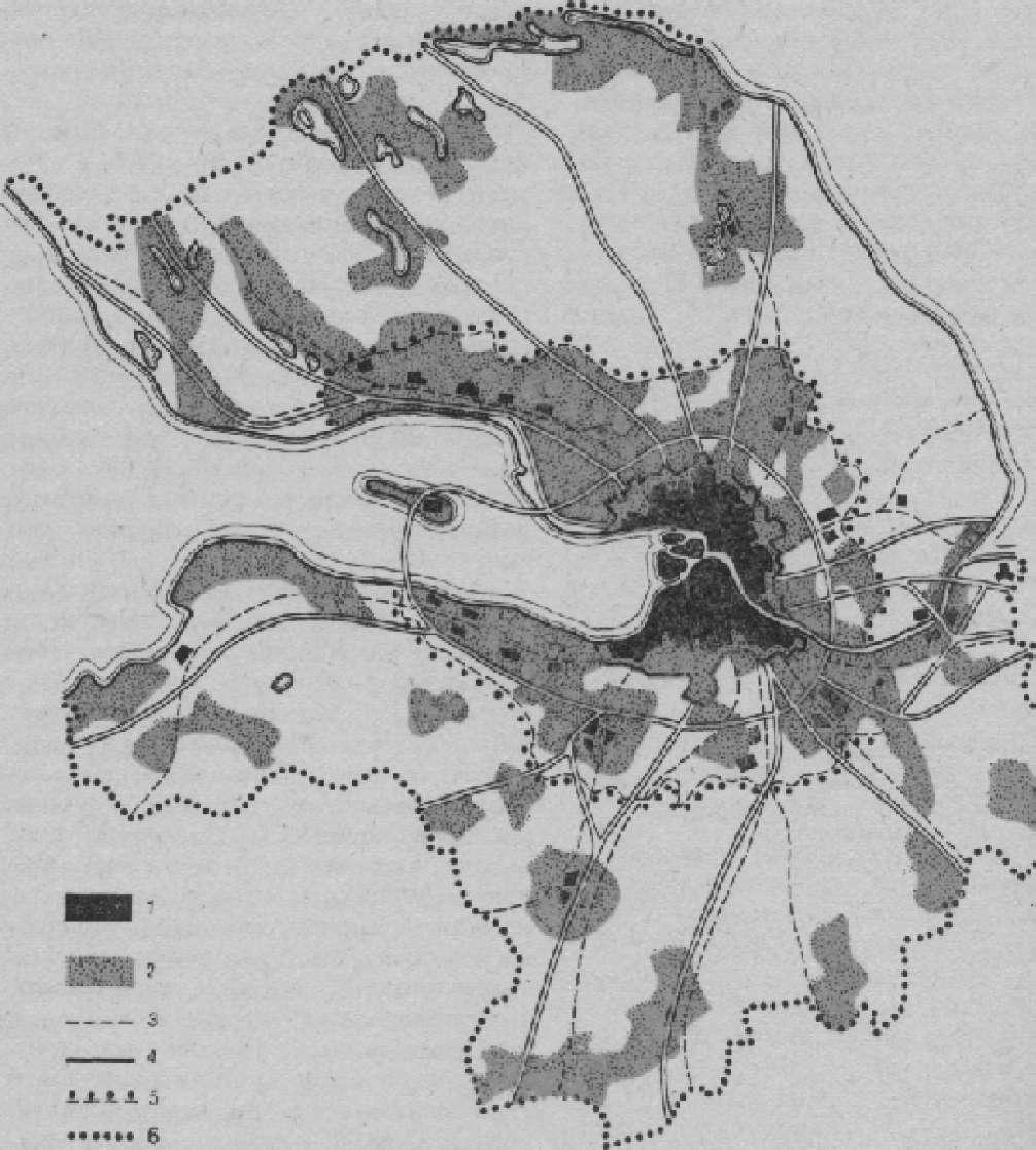 Пригородная зона Ленинграда