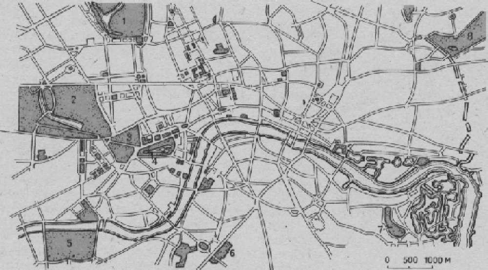 Система парков центральной части Лондона
